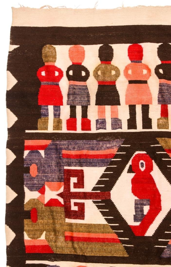 Wool Tapestry Blanket, Momostenango, Guatemala - 4
