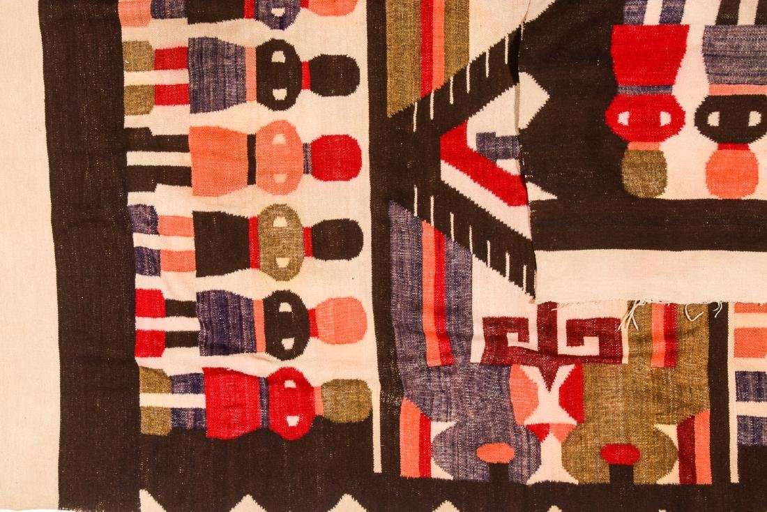 Wool Tapestry Blanket, Momostenango, Guatemala - 5