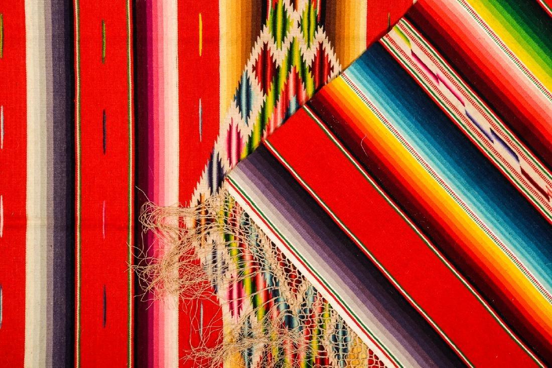 Saltillo Serape, Mexico, Early 20th c.: 78'' x 37'' - 2