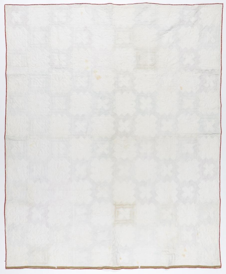 Antique American Signature Quilt - 3