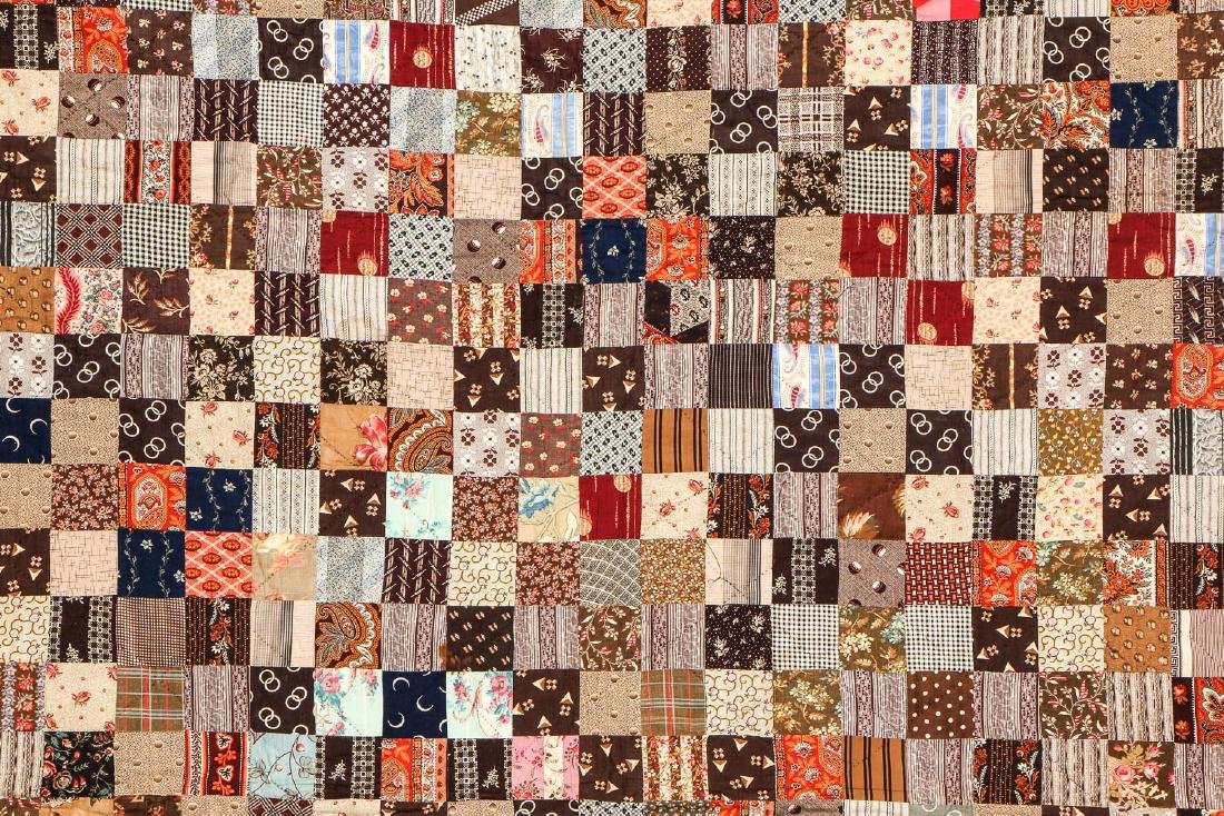 2 Antique American Quilts - 3
