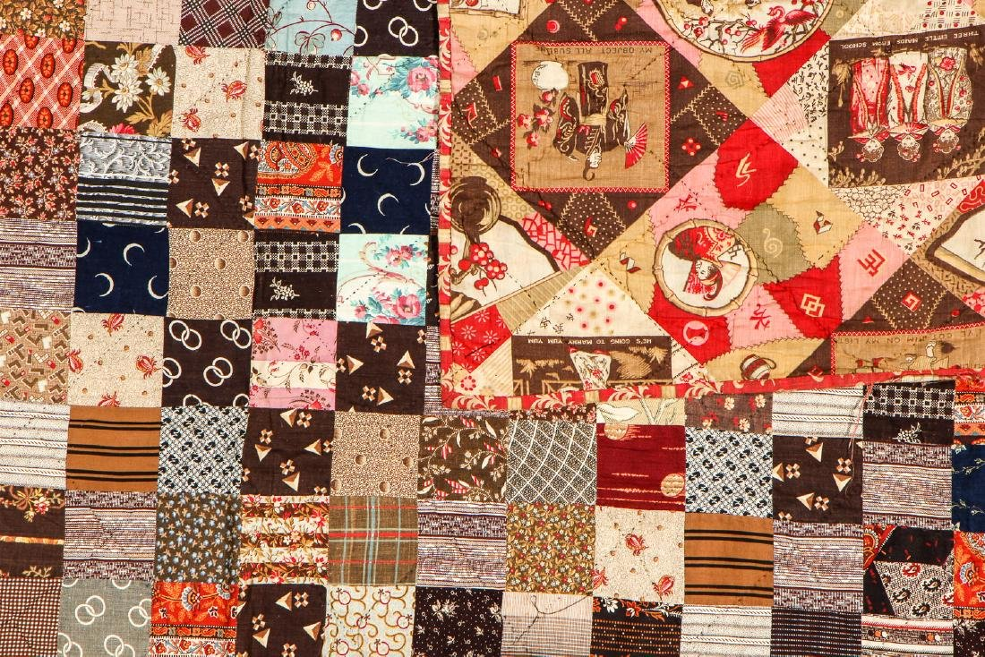 2 Antique American Quilts - 4