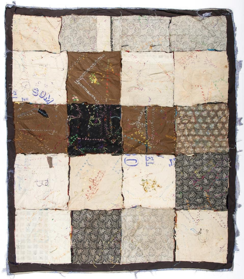 2 Antique American Crazy Quilts - 5