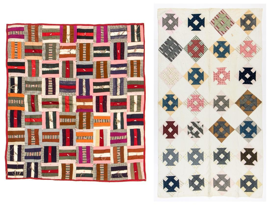 2 Antique American Quilts
