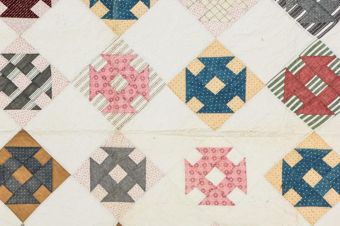 2 Antique American Quilts - 7