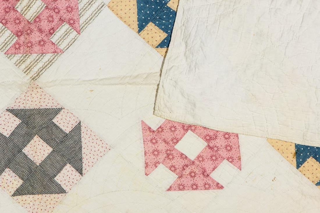 2 Antique American Quilts - 8
