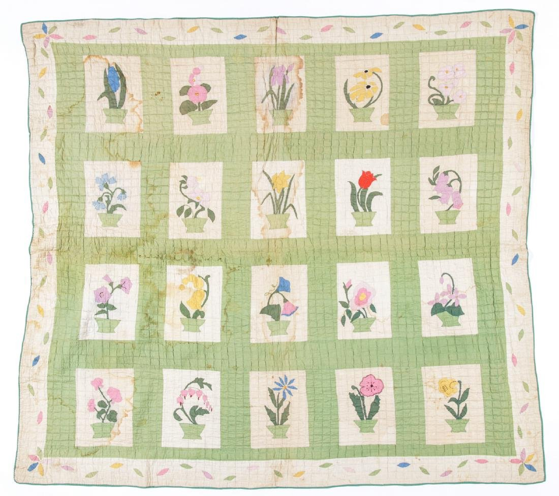 3 Antique American Quilts - 6