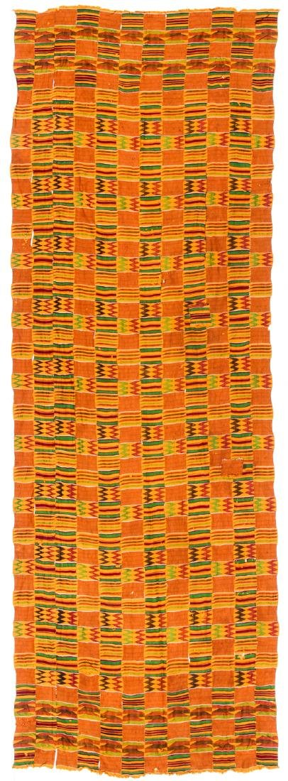 Kente Cloth, Ghana, Mid 20th C.