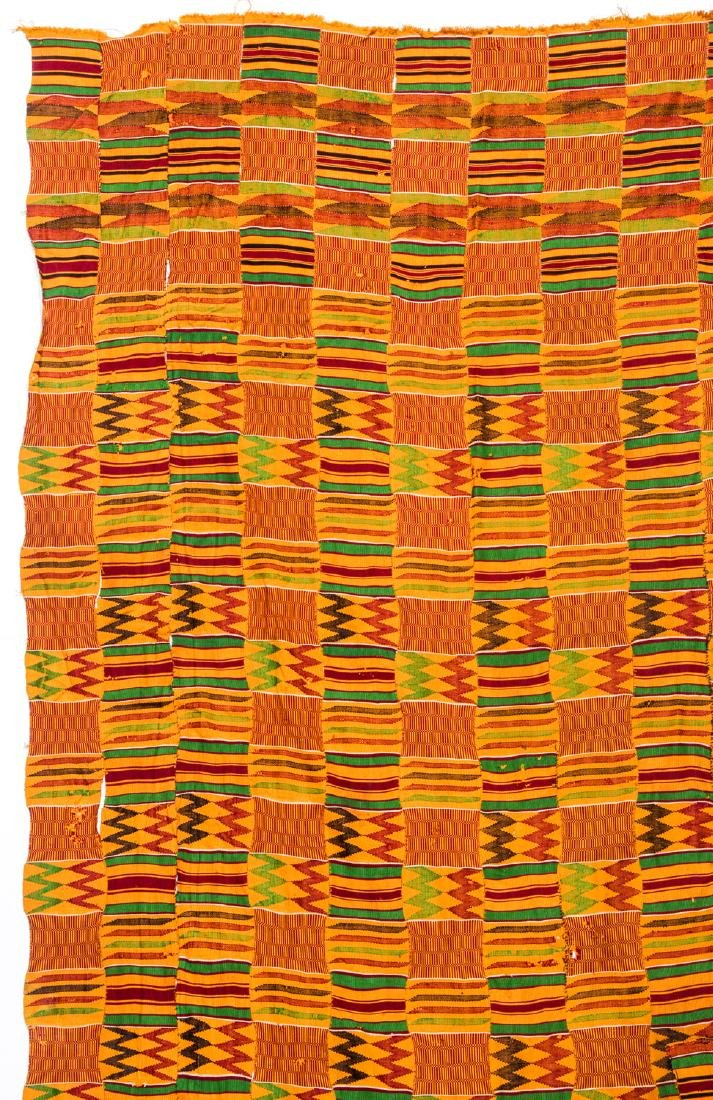Kente Cloth, Ghana, Mid 20th C. - 2