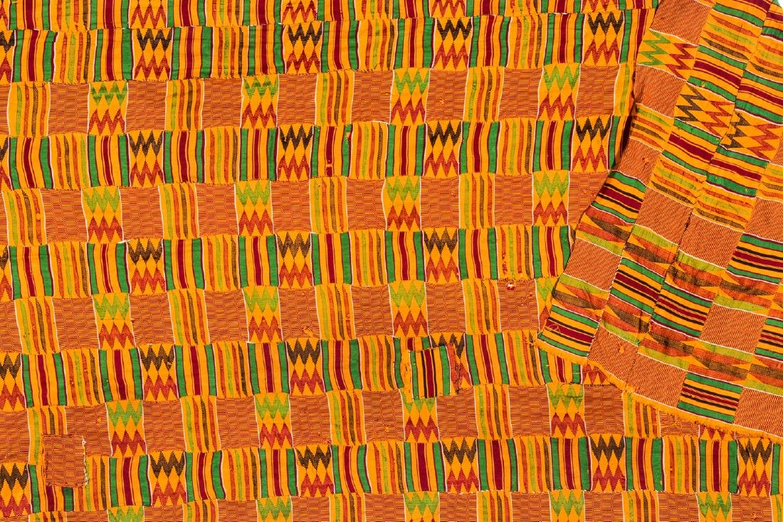 Kente Cloth, Ghana, Mid 20th C. - 3