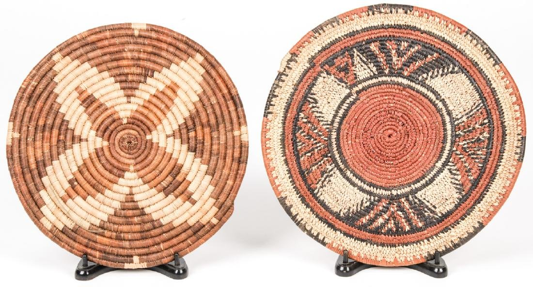 Collection of 5 Native American & Ethnographic Baskets - 3