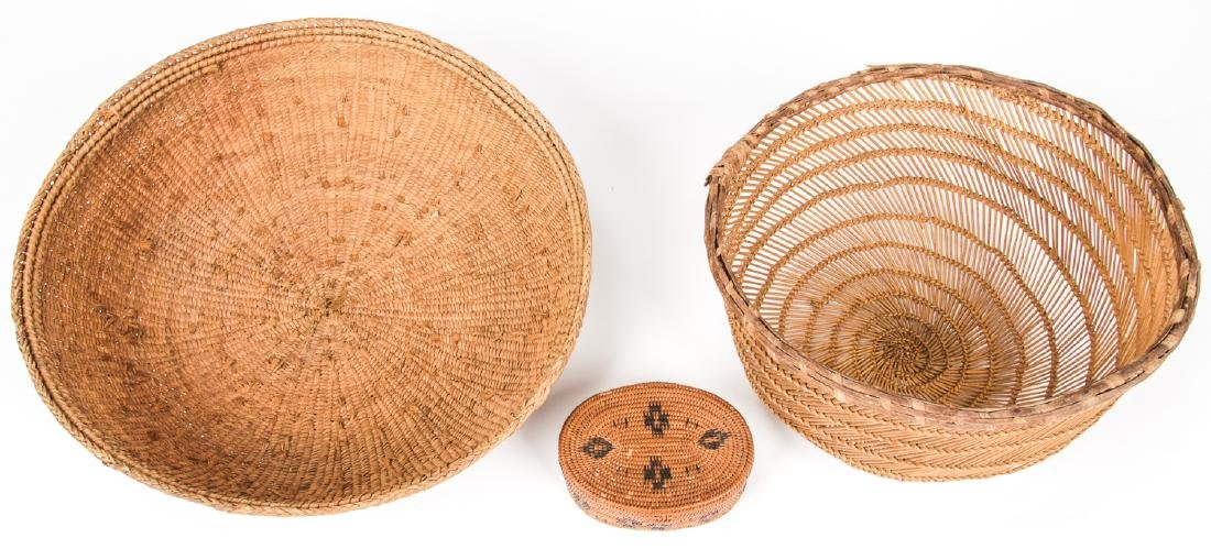 Collection of 5 Native American & Ethnographic Baskets - 6
