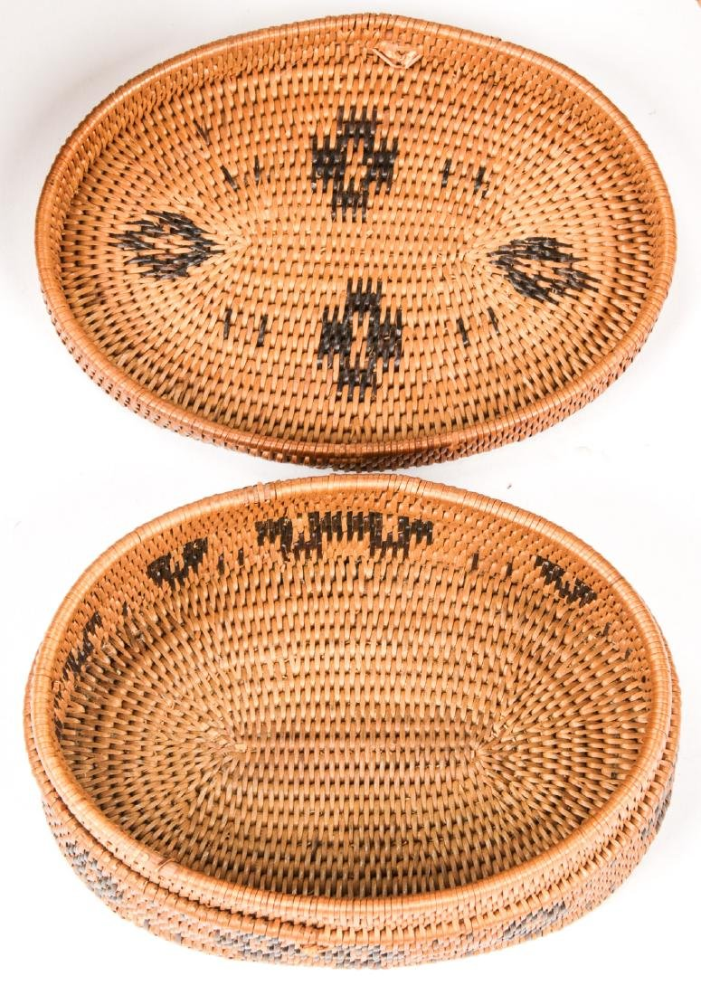 Collection of 5 Native American & Ethnographic Baskets - 7