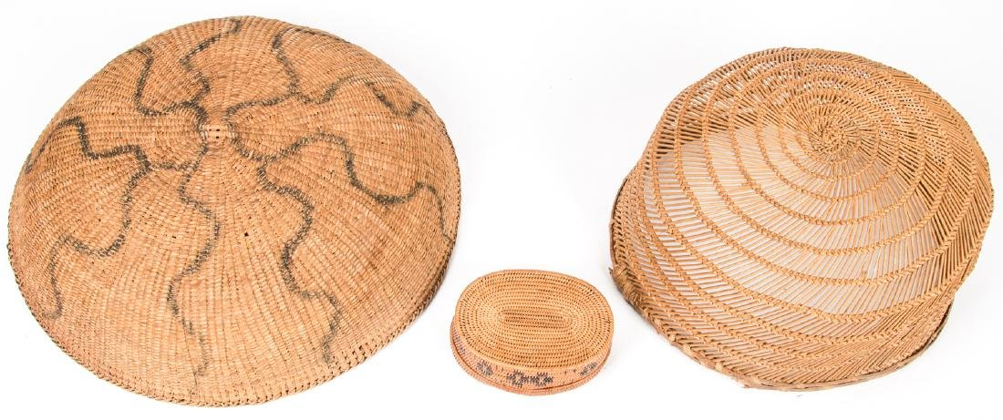 Collection of 5 Native American & Ethnographic Baskets - 8