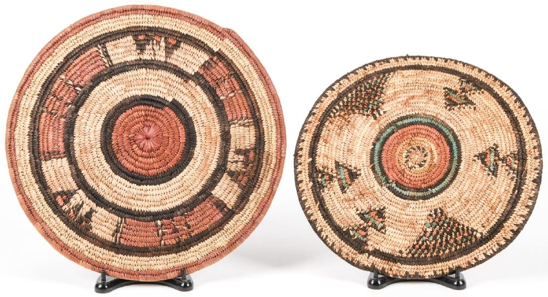 Collection of 4 Native American & Ethnographic Baskets - 3