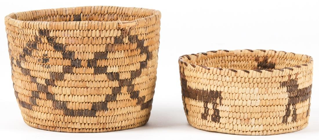 Collection of 4 Native American & Ethnographic Baskets - 6