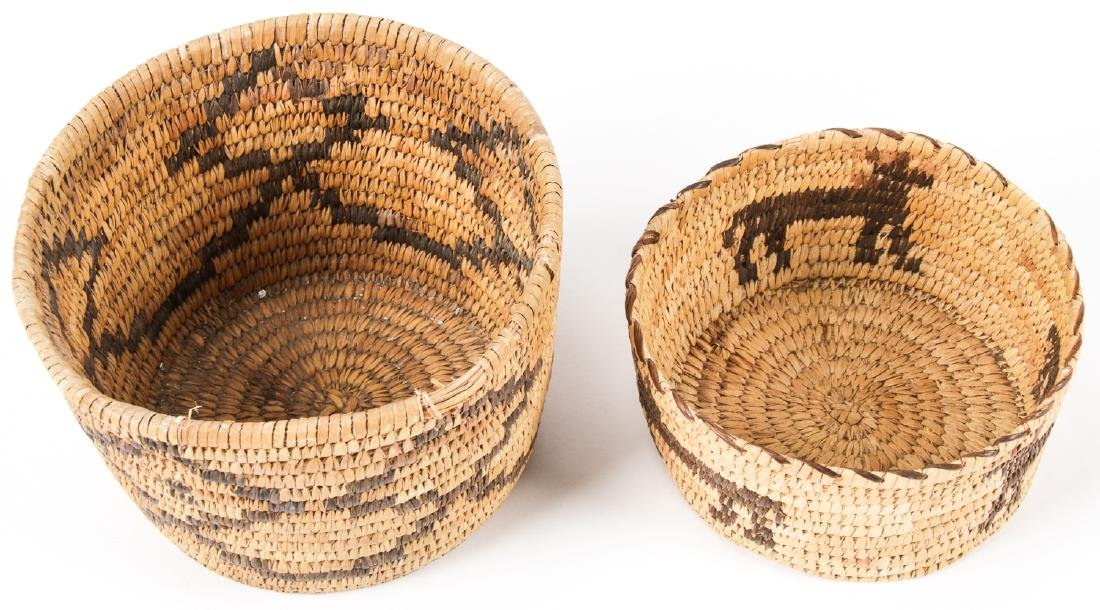 Collection of 4 Native American & Ethnographic Baskets - 7