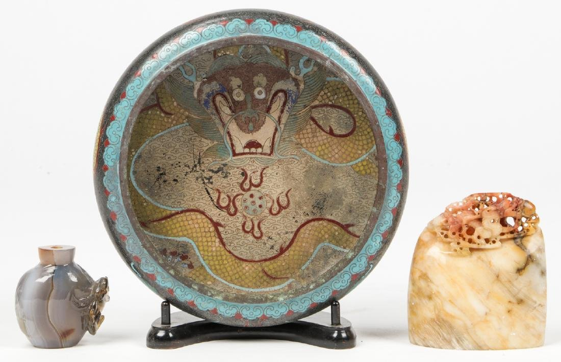 3 Chinese Decorative Arts Objects