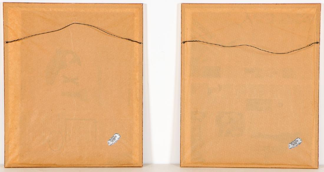 Paul Jacoulet (1902-1960) 2 Woodblock Prints - 8