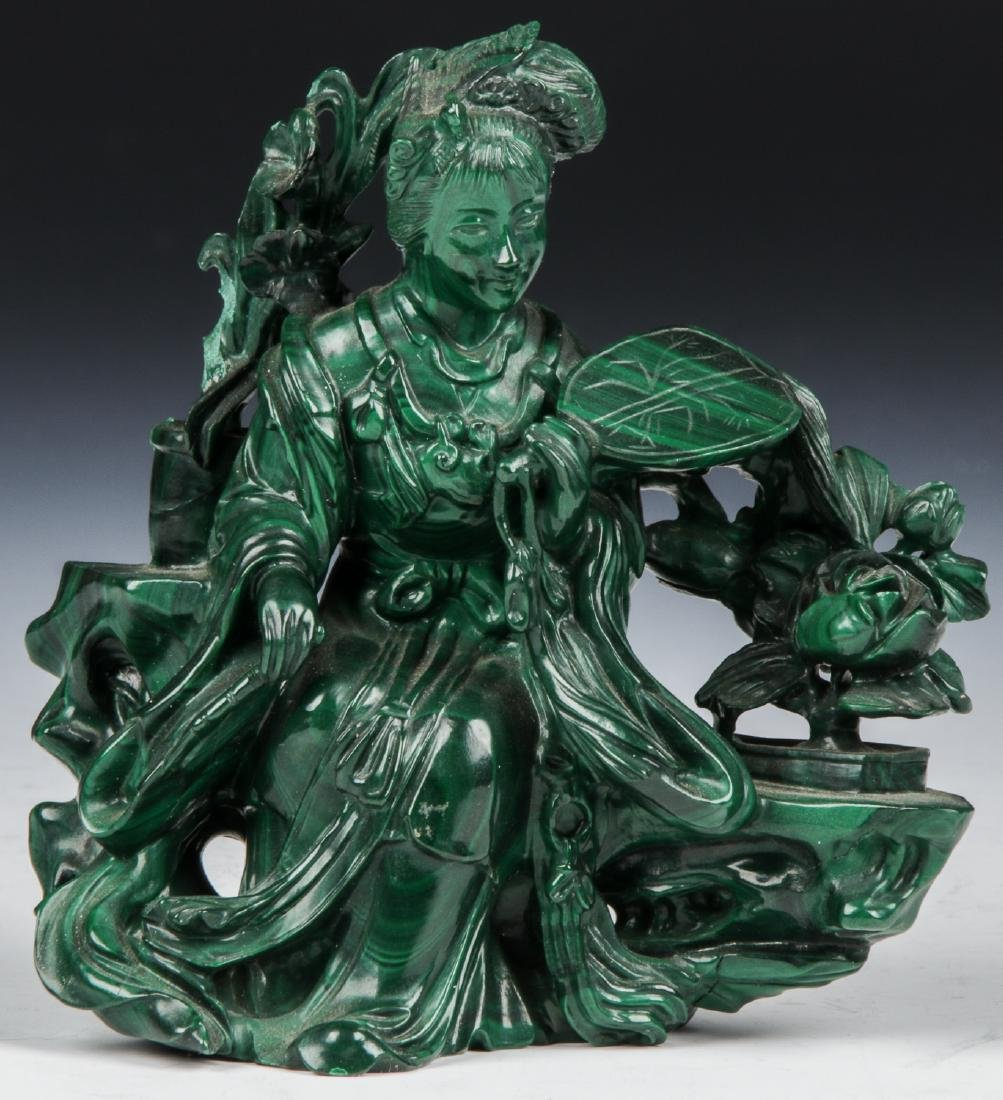 Chinese Carved Stone Figure