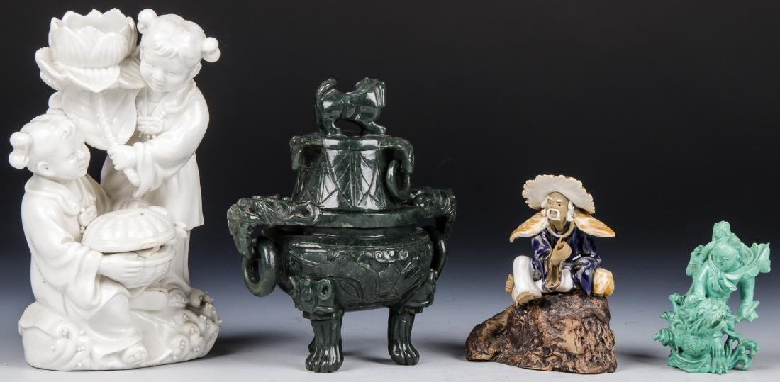 4 Asian Decorative Arts Objects