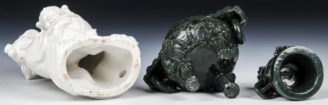 4 Asian Decorative Arts Objects - 5