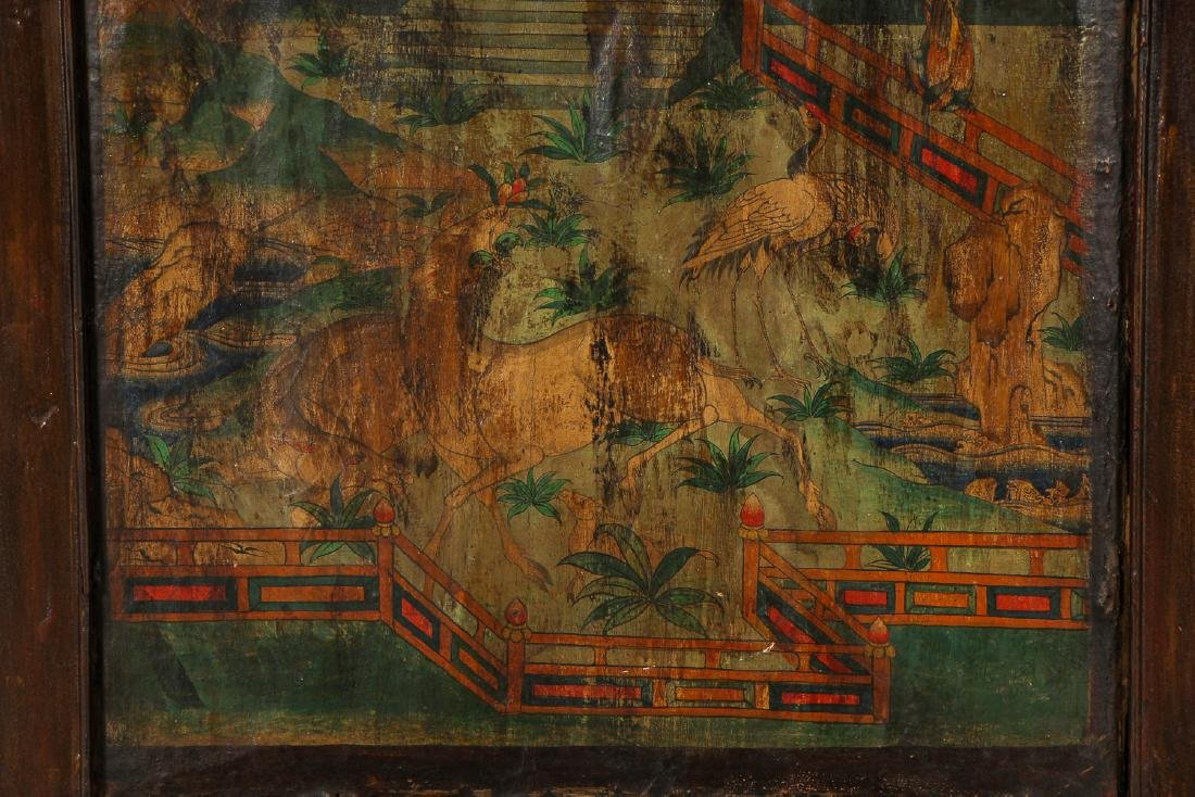 Antique Double-Sided Chinese Painting - 3