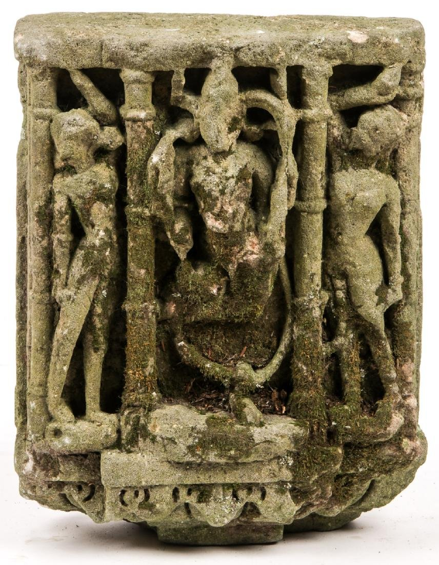 Indian Sandstone Sculpture, 10th-11th C.