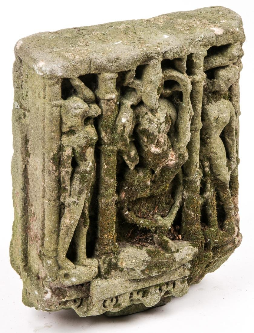 Indian Sandstone Sculpture, 10th-11th C. - 2
