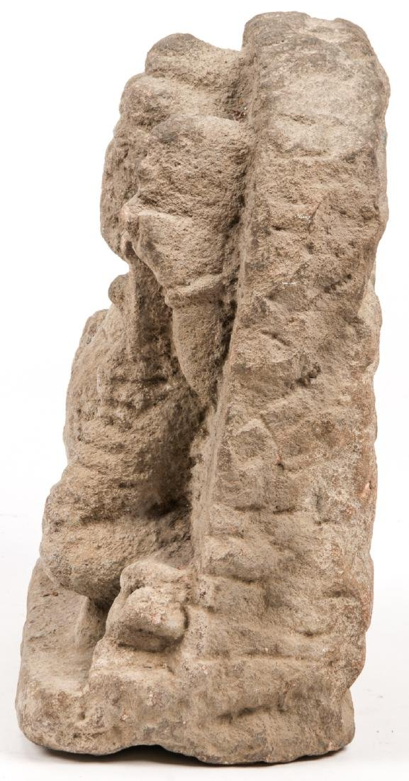 10th/12th C. Sandstone Carving of Ganesh - 5
