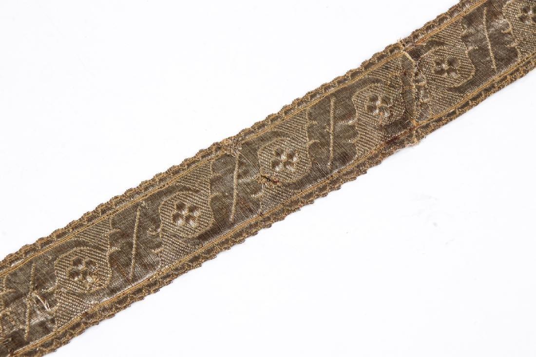Antique Caucasian/Russian Silver Belt - 7