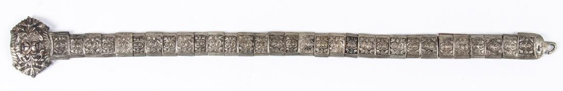 Antique Caucasian/Russian Silver Belt - 2
