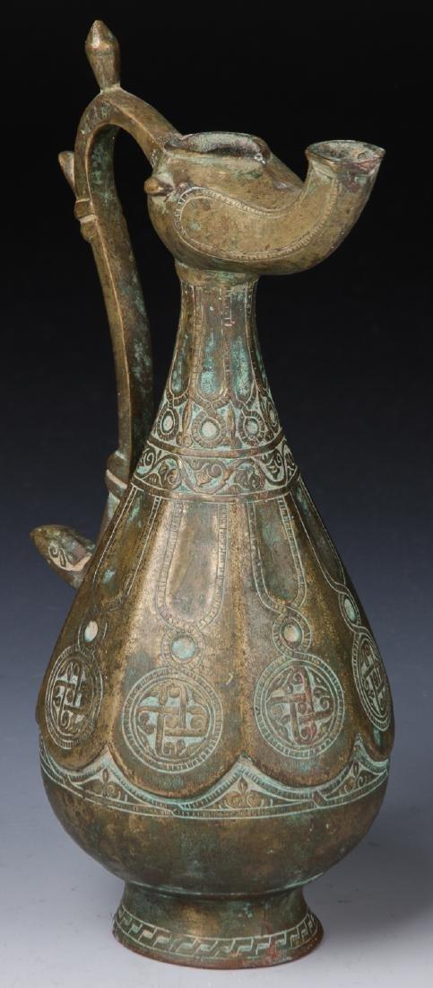 11th/12th Century Seljuk Bronze Ewer