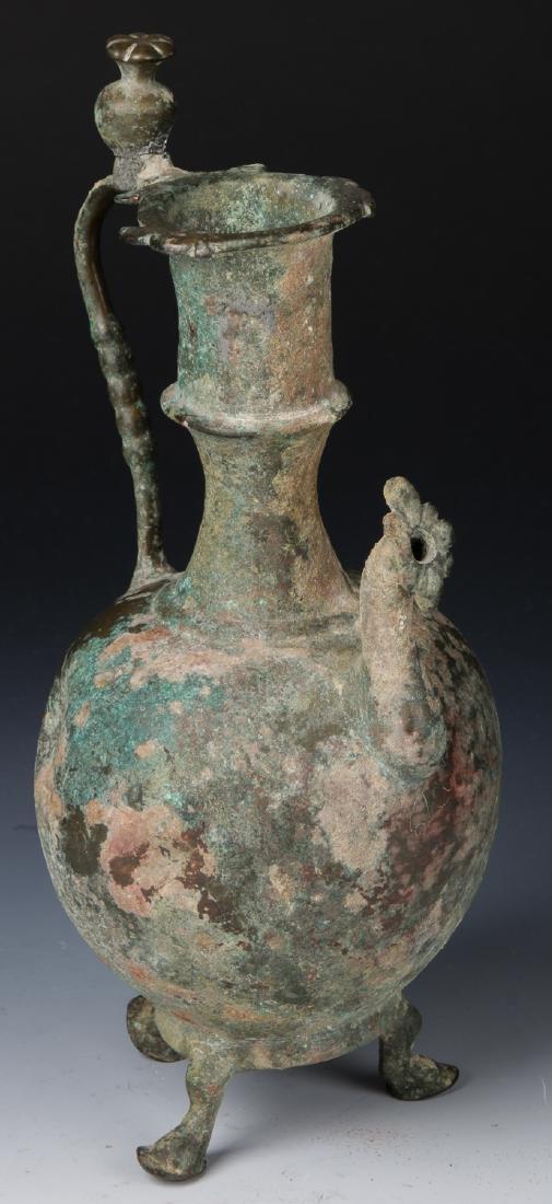 12th/13th C. Bronze Vessel, Persia or Central Asia
