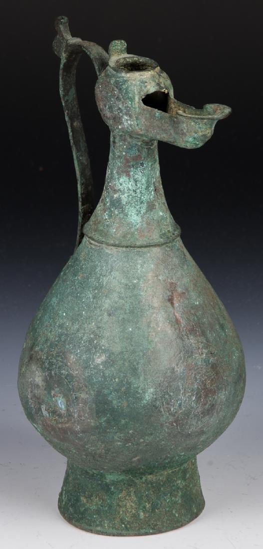 14th/15th C. Persian Bronze Ewer