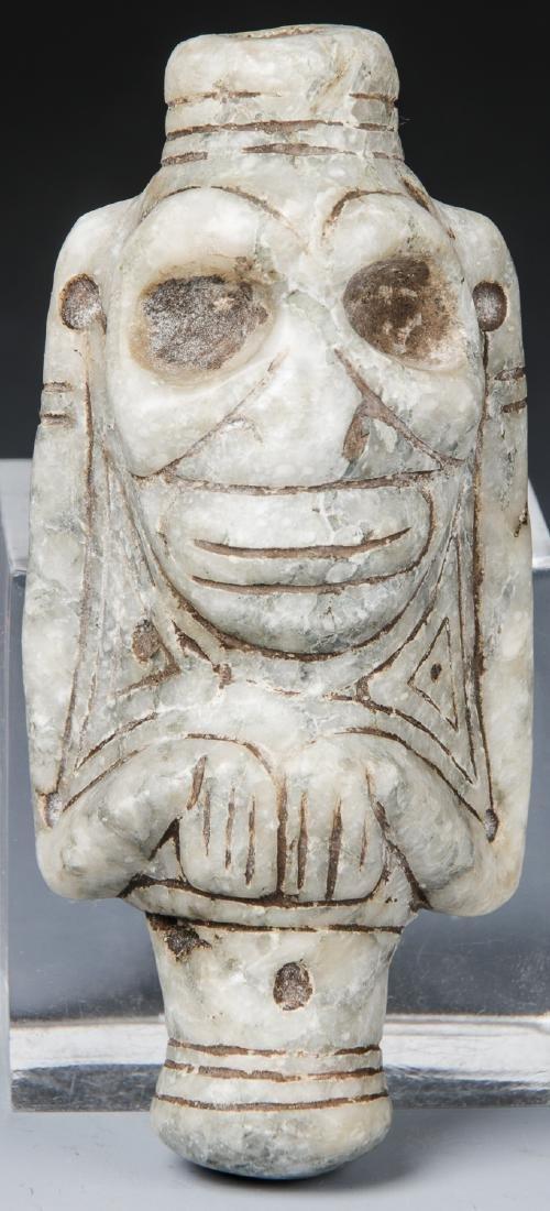 Taino Anthropic Cohoba Inhaler, c.1000-1500 AD
