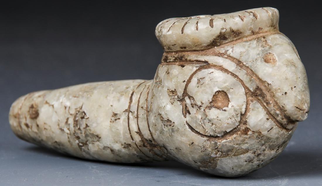 Taino Parrot Pipe, c. 1000-1500 AD