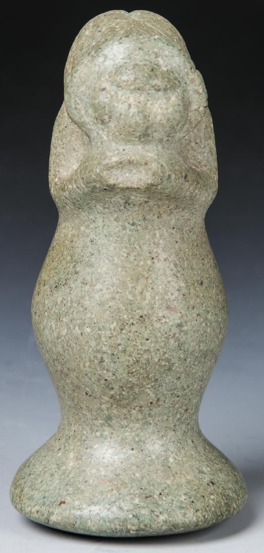Taino Stone Figural Pestle, c. 1000-1500 AD