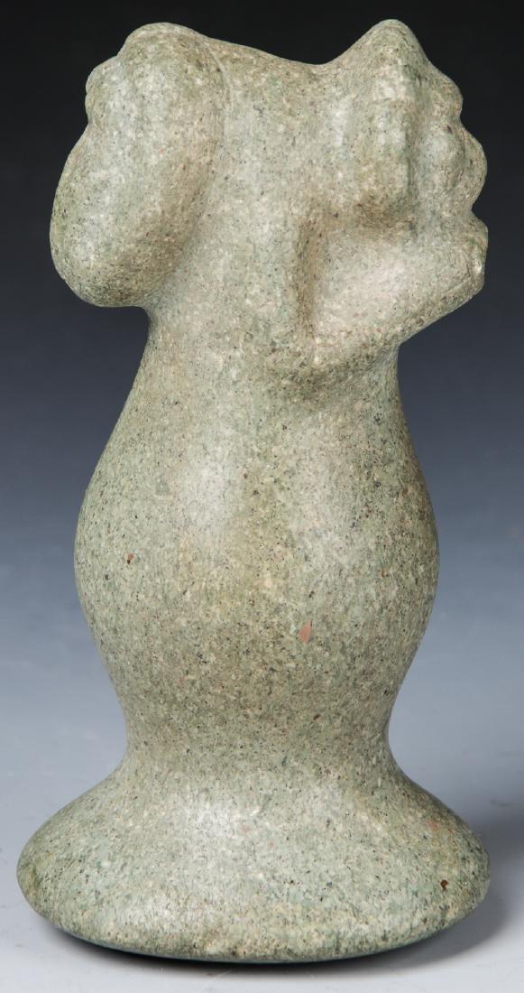 Taino Stone Figural Pestle, c. 1000-1500 AD - 3