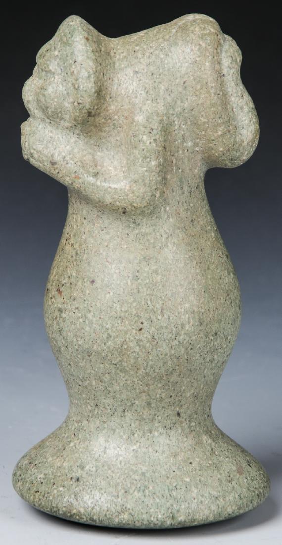 Taino Stone Figural Pestle, c. 1000-1500 AD - 5