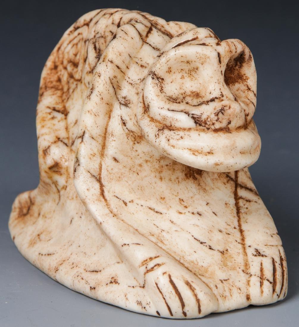 Taino Frog-Man Cemi Stamp, c. 1000-1500 AD