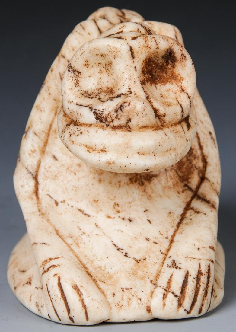 Taino Frog-Man Cemi Stamp, c. 1000-1500 AD - 2
