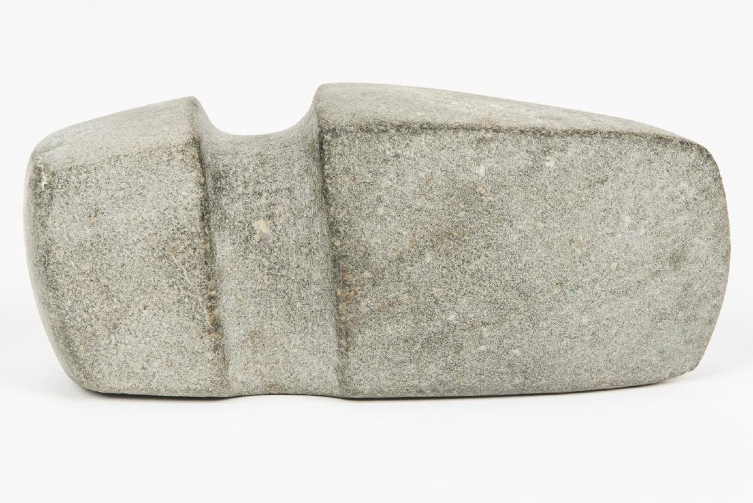 Grooved Stone Square Ax, Iowa