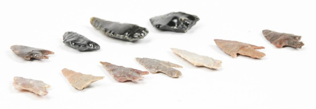 Collection of 11 Utah Arrowheads - 3