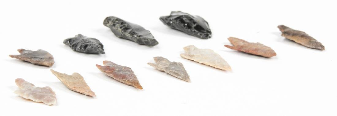Collection of 11 Utah Arrowheads - 4