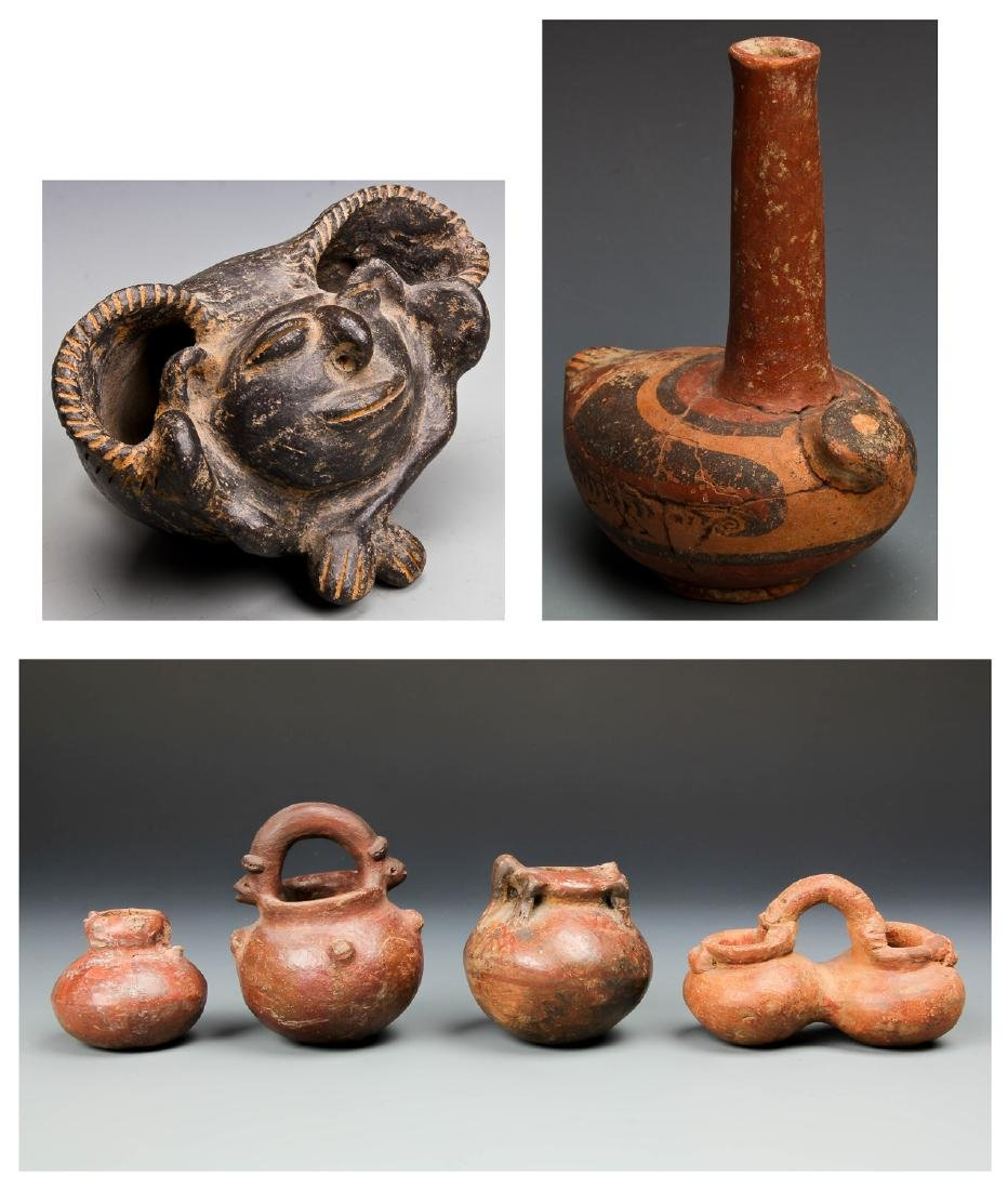 Group of 6 Pre-Columbian Artifacts