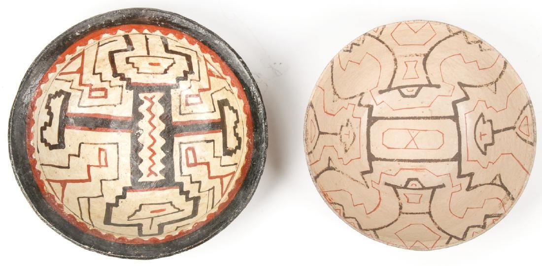 2 Peruvian Shipibo Bowls