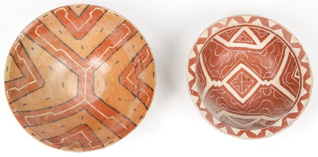 2 Old Peruvian Shipibo Bowls