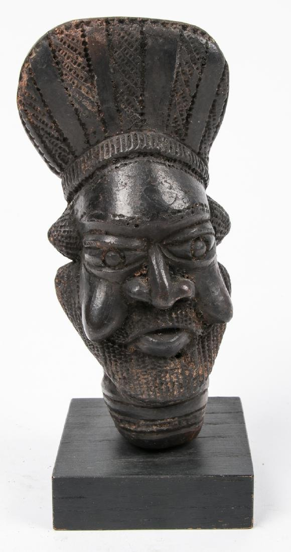 Cameroon Ceramic Pipe Bowl