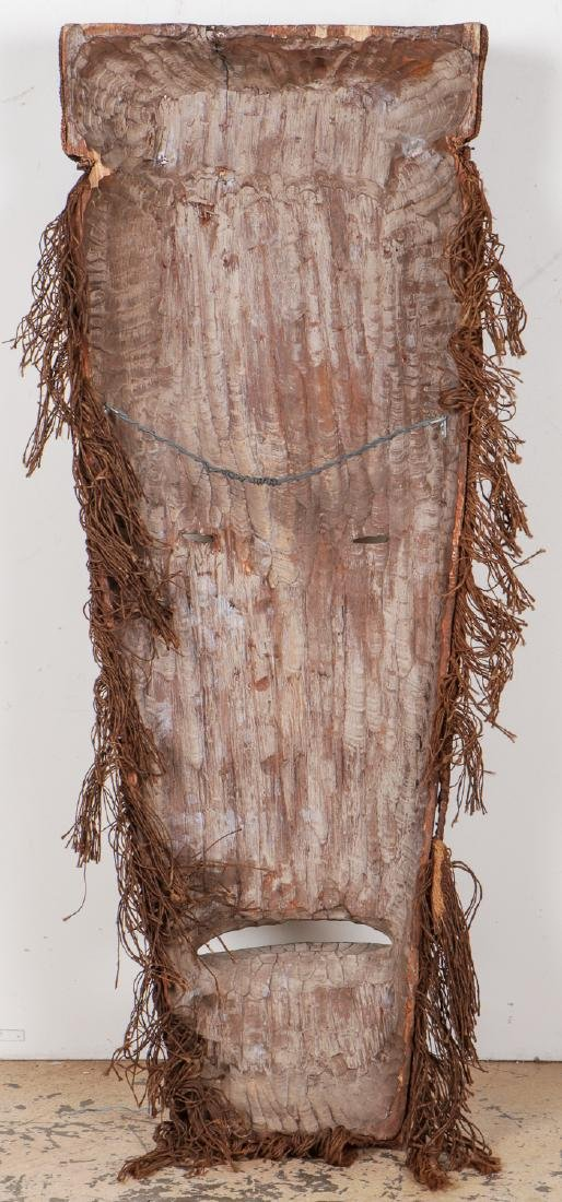 """Two Monumental African Tribal Masks: Ht. 70"""" - 6"""